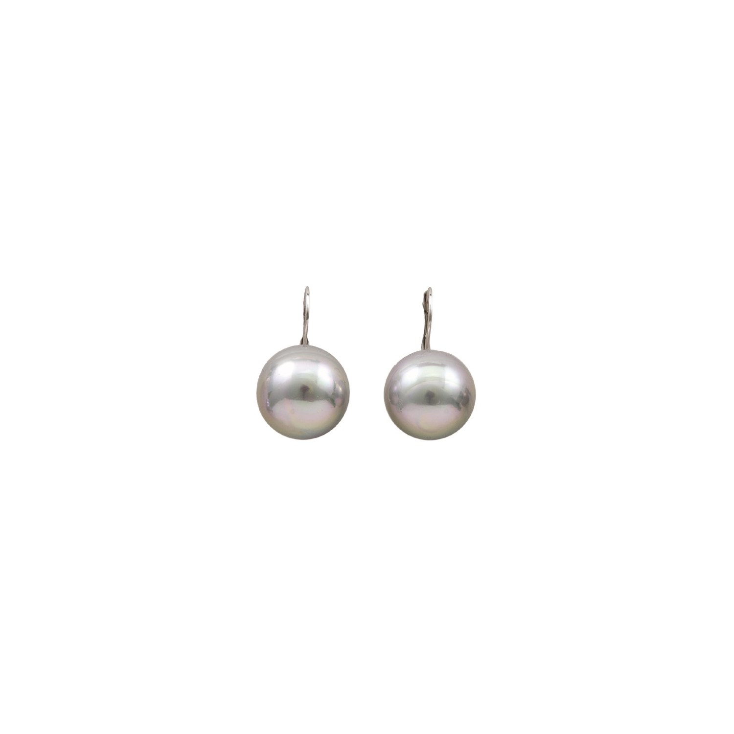 duo earrings handmade shop white bradby giant pearl claudia