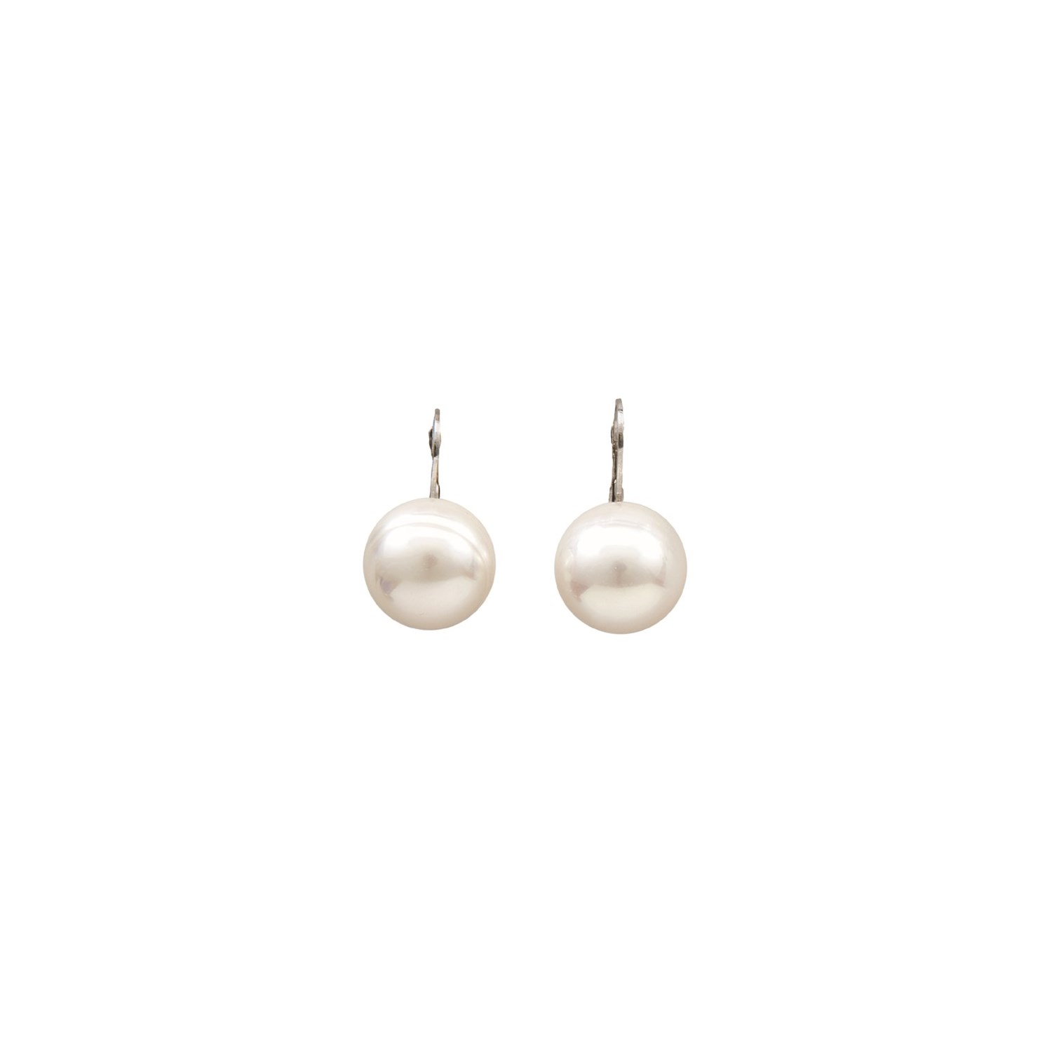 giant joia circular pearl majorca baroque front de earring back lever earrings
